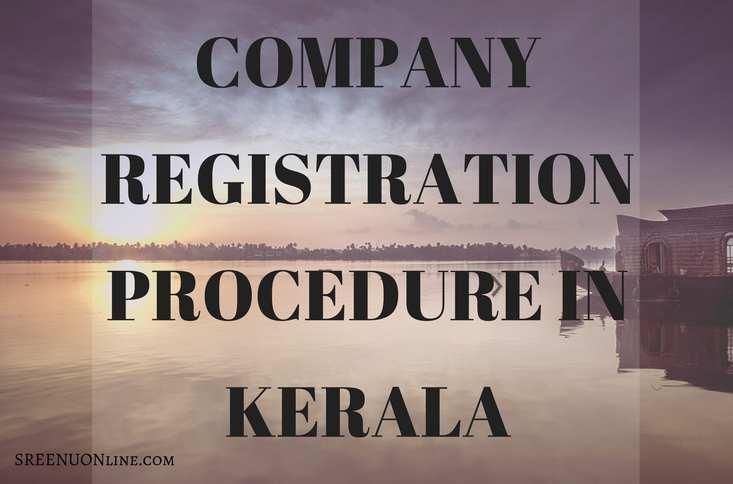 Company Registration Procedure in Kerala