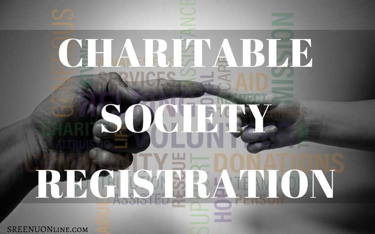 How to register charitable society in trivandrum kerala