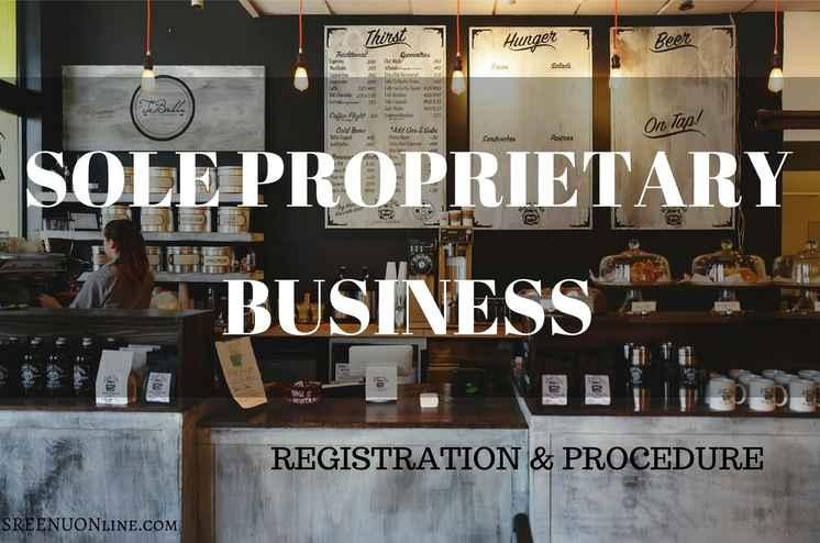How to register a sole proprietorship firm in Kerala